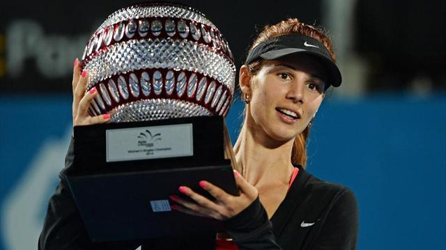 Tennis - Pironkova stuns Kerber in Sydney for first title