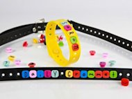 Shainsware personalized rubber bracelets with interchangeable charms