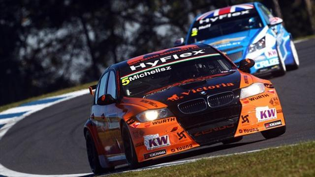 Michelisz takes lead in WTCC Yokohama Trophy