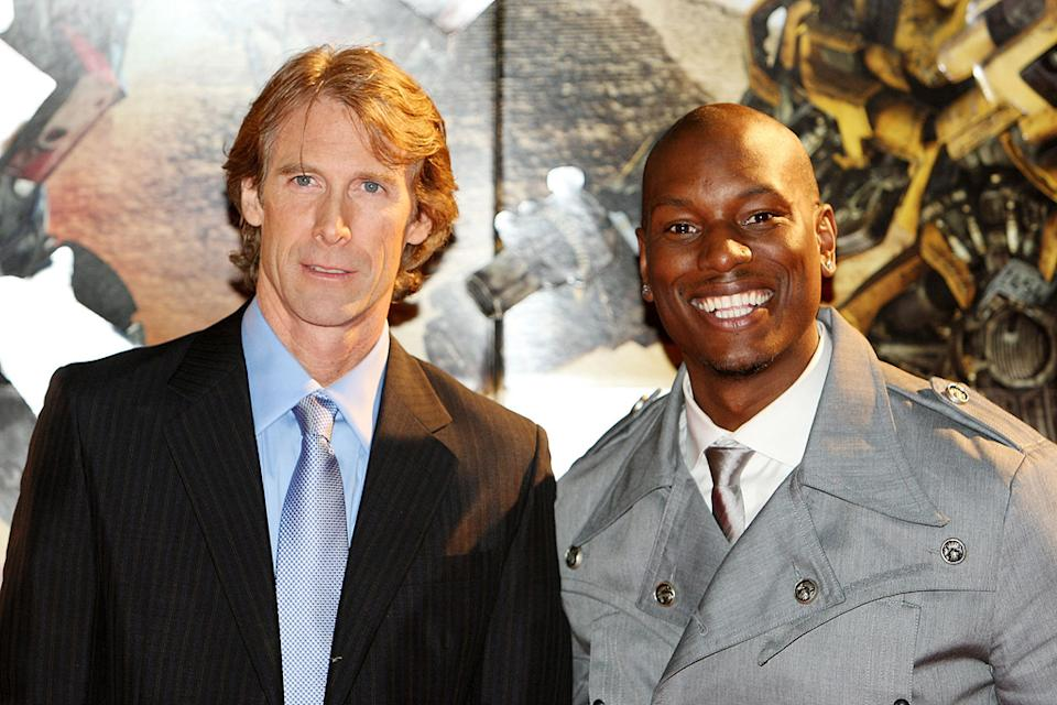 Tranformers Revenge of the Fallen Japan Premiere 2009 Michael Bay Tyrese Gibson