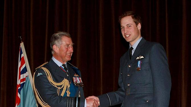 Prince Charles Prince William Graduates