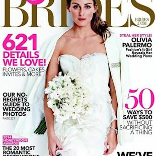 Colour wedding dresses are more Olivia Palermo's style?