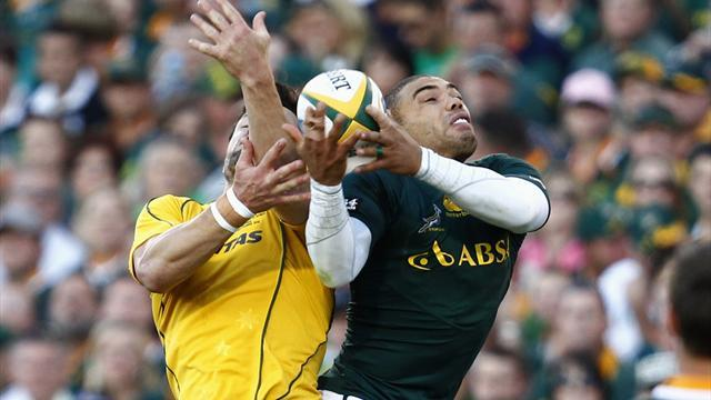 South Africa hammer ailing Wallabies