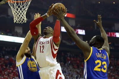 NBA playoffs 2015: Rockets host Warriors in Game 3 of Western Conference Finals