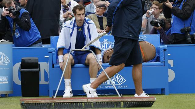 ATP Queen's - Andy Murray back on court: LIVE