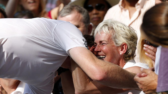 Tennis - Andy Murray and Judy Murray File Photo