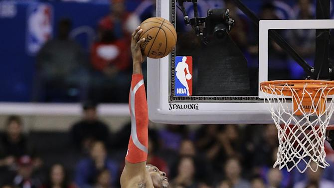 Clippers lead all the way to beat Rockets 137-118