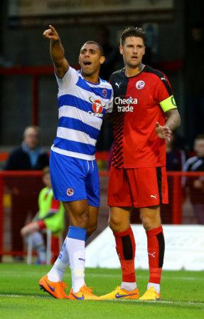 Soccer - Pre Season Friendly - Crawley Town v Reading - Checkatrade.com Stadium
