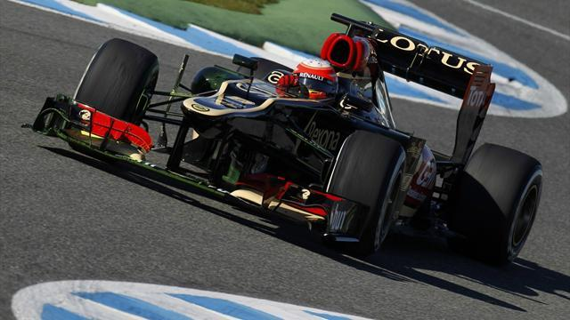 Formula 1 - Grosjean: E21 an all-round improvement