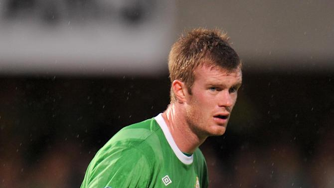 Chris Brunt has been sidelined for most of the summer with a calf strain