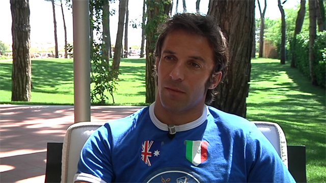 Serie A - Del Piero exclusive: I just want to play football