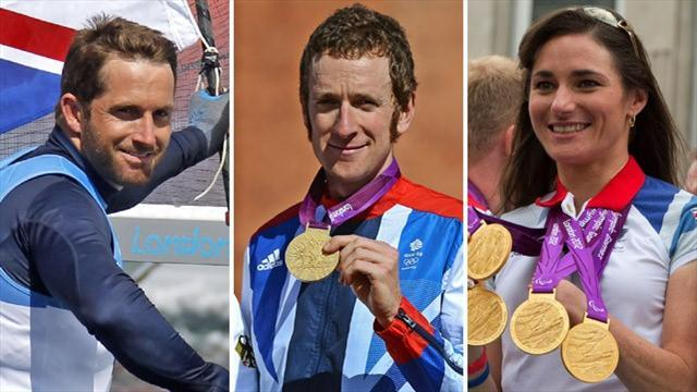 Cycling - Sir Bradley Wiggins heads Olympic Honours