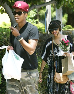 PHOTOS: Tia Mowry & Cory Hardrict Enjoy Alone Time At Farmers Market