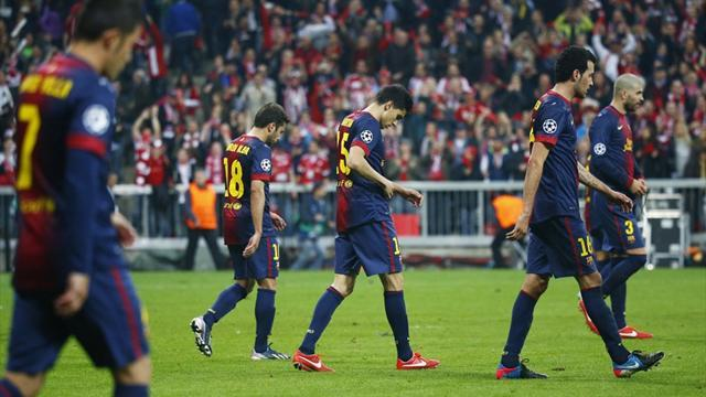 Liga - Weary Barca seek quick end to title race