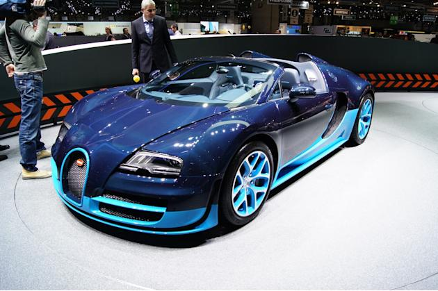 bugatti veyron grand sport vitesse yahoo india finance. Black Bedroom Furniture Sets. Home Design Ideas
