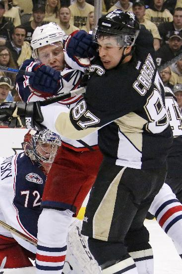 Penguins wary of Blue Jackets after Game 1 escape