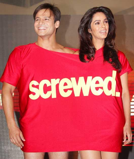Screwed in a T-shirt