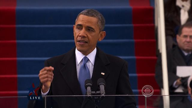"""Obama: """"We will respond to the threat of climate change"""""""