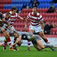 Greg Eden, pictured with ball, has joined Hull KR