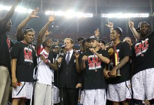 The Louisville Cardinals   Photo Credits: Andy Lyons/Getty Images