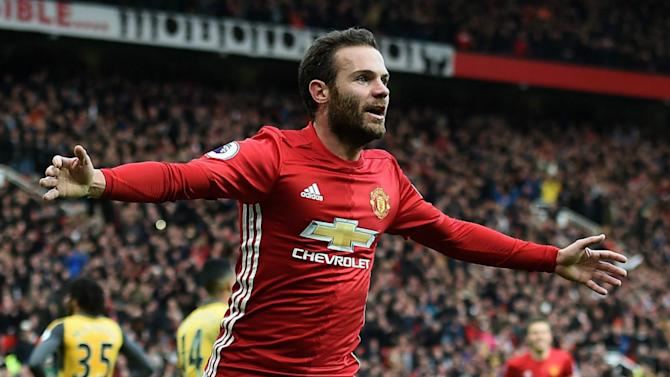 'We didn't have a personal problem' - Mata happy under Mourinho at Man Utd