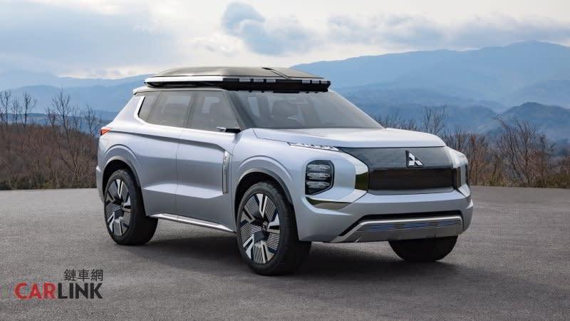 2020年海外發表台灣2021年導入,MITSUBISHI第四代Outlander質感升級