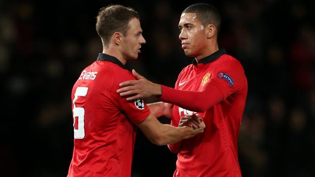 Champions League - Smalling and Evans set to miss Olympiacos clash