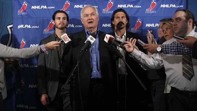 NHL union chief Donald Fehr, who was unable to find an agreement