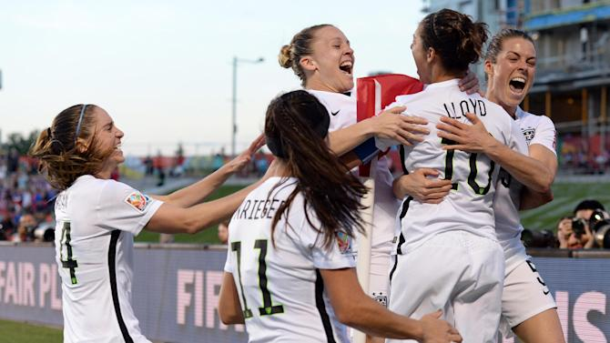 Women's World Cup - Germany and the USA set for 'very heated' Women's World Cup semi-final