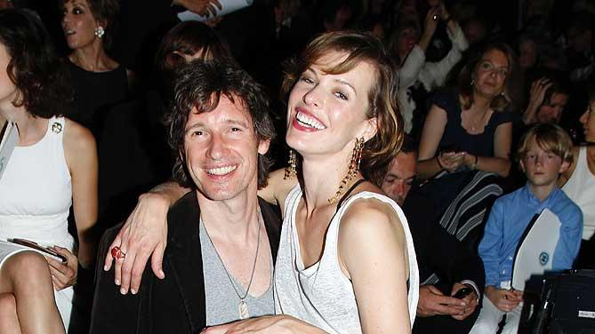 Anderson Jovovich Paris Fshn Week