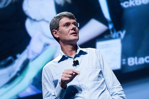 Thorsten Heins - Pic: (cc) Official BlackBerry Images