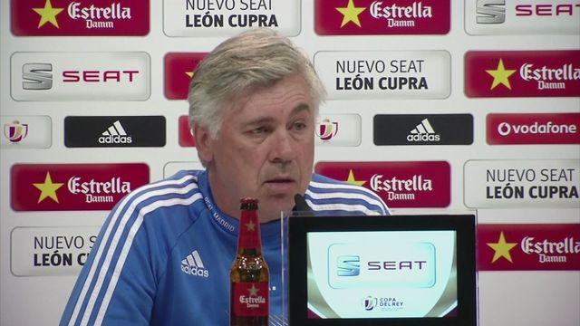 Ronaldo out of Copa del Rey final - Ancelotti