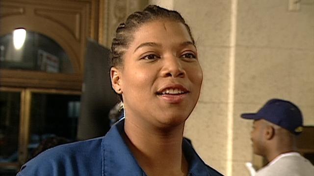 FLASHBACK: On Set With Queen Latifah for Her First Film, 1996's All-Female Heist 'Set It Off'