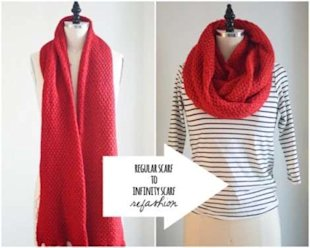 Making an Infinity Scarf in 3 Easy Steps