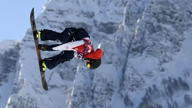 Sochi 2014 - Brits in Sochi: Nicholls makes slopestyle final