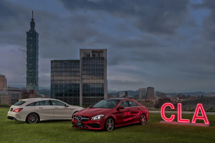 CLA/CLA Shooting Brake 全新上市