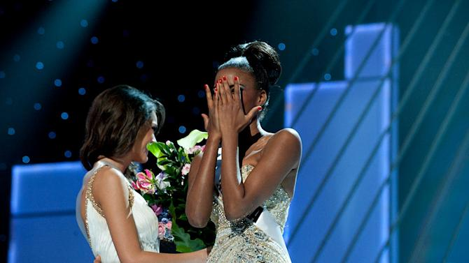 "Miss Angola 2011, Leila Lopes is announced the winner of the 2011 Miss Universe® Competition during the ""60th Annual Miss Universe"" pageant from São Paulo, Brazil."