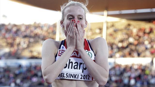 Athletics - Sharp set to be handed European gold