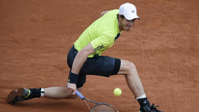 French Open - Murray breezes past Matosevic at Roland Garros