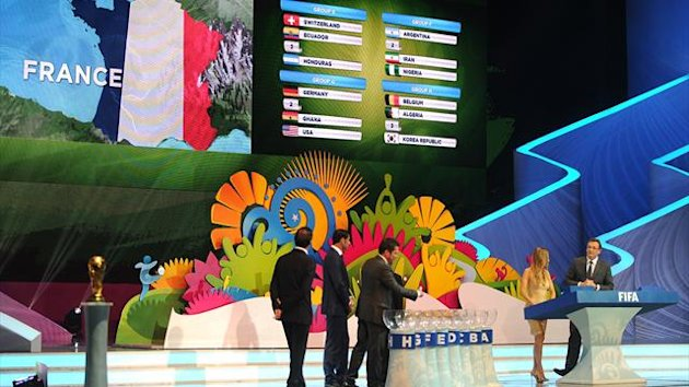 Draw World Cup 2014