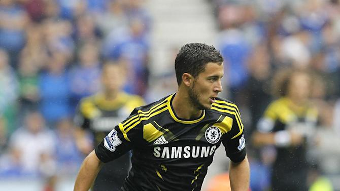 Eden Hazard moved to Chelsea from French club Lille this summer
