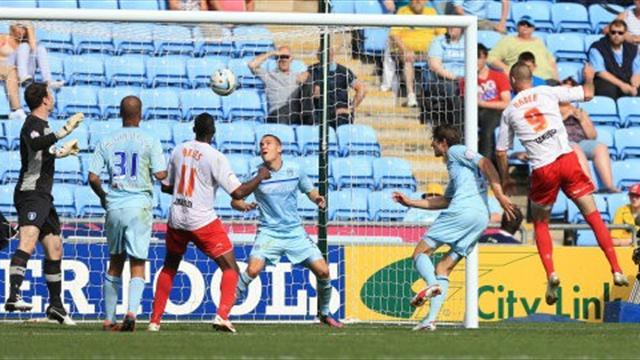 Stevenage continue run with win at Coventry