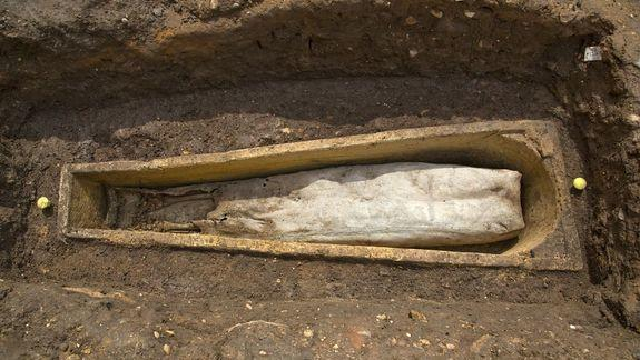 Medieval Coffin at King Richard III Site Holds … Another Coffin