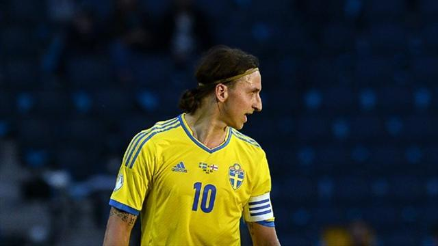 International friendlies - Ibrahimovic scores hat-trick as Sweden beat Norway