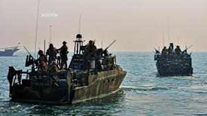 Two Small US Navy Vessels Being Held by Iran