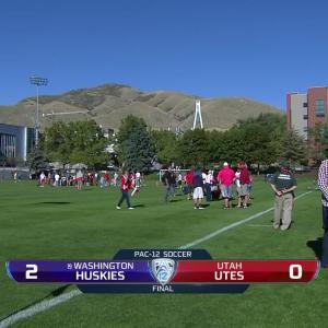 Recap: Washington women's soccer shuts out Utah