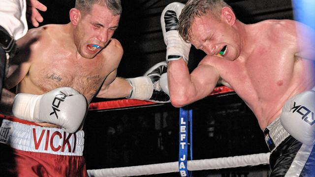 Boxing - Johnny Greaves finishes with a win on Fury-ous Sunday Rumble card