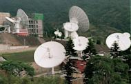 This photo shows the satellite telecommunications center on Yangmingshan outside of Taipei on December 1, 1998