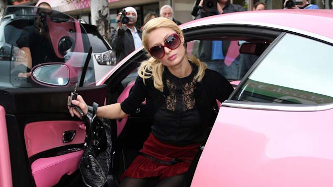 Paris Hilton Bentley