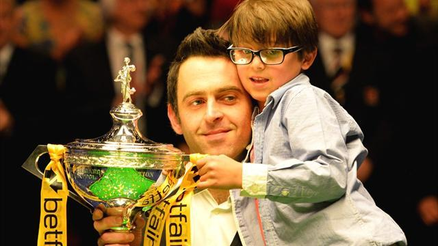 Snooker - O'Sullivan and son 'involved in car crash'